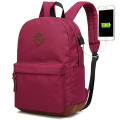 School Travel  Backpack Bag With USB Charger