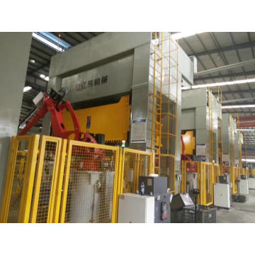 Single-action steel sheet punching hydraulic press