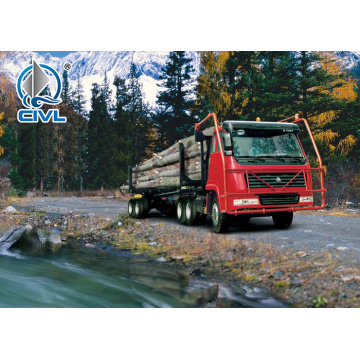 6x4 40 Ton Log Carrier Heavy Trucks