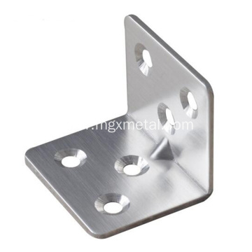 Stainless Right Angle Bracket With Reinforcement Rib