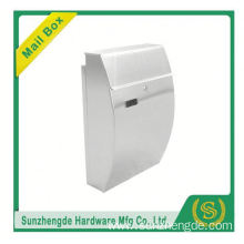 SMB-005SS New Product Wall Mount House Style Locking Mailbox