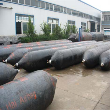Inflatable Rubber Marine Airbags CCS Pneumatic for shipyard