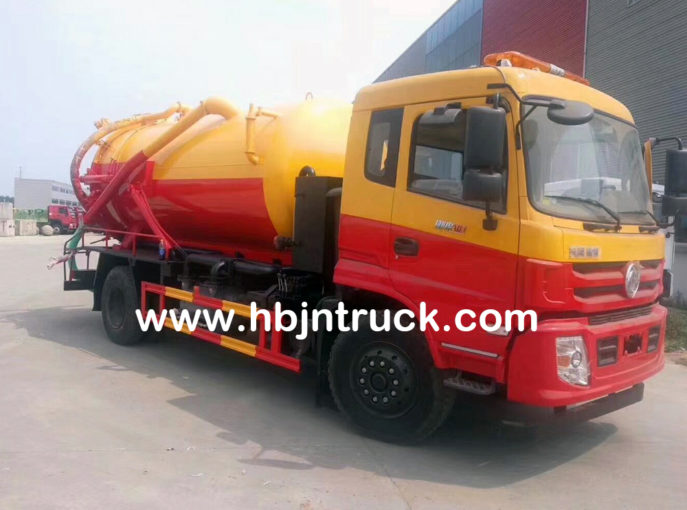 10000 Liters Sewage Disposal Truck