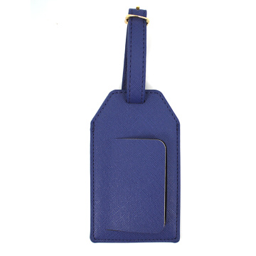 Fashion Design Leather Luggage Tag Loop Strap
