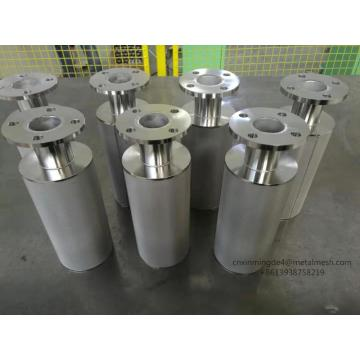 Sintered mesh woven wire mesh cylinder filter