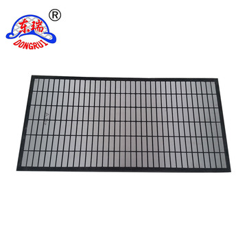 4 Panels API Composite Material Shaker Screen of oilfield Shaker Screen