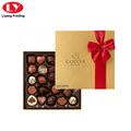 chocolate packaging gift box with ribbion decoration