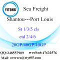 Shantou Port Sea Freight Shipping To Port Louis