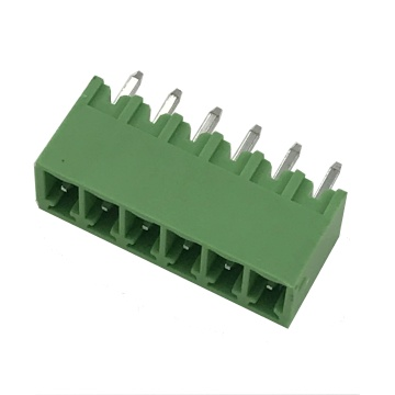 3.5mm straight angle female pin Plug-in terminal connector