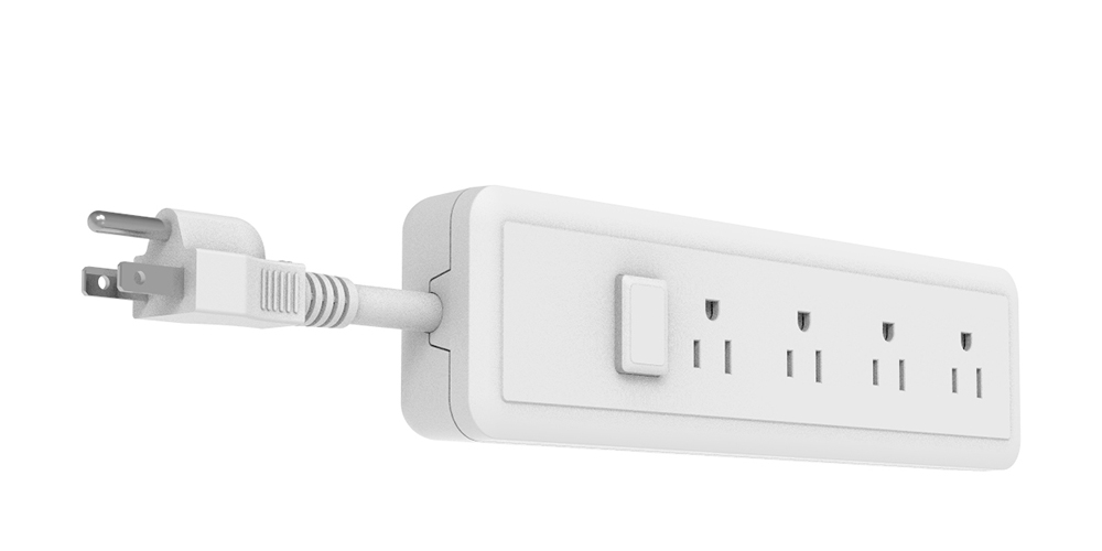 American Electrical Power Strip with Switch