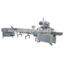 high speed full-automatic pillow packing machine line