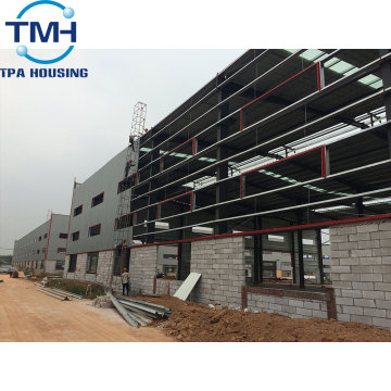 Cheap Customized Prefabricated Steel Workshop Structure