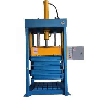 Good quality hydraulic baler machine for cloth textile