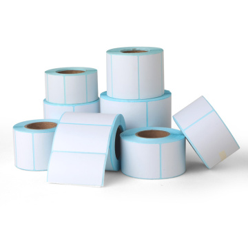 Premium blank thermal label roll for barcode printer