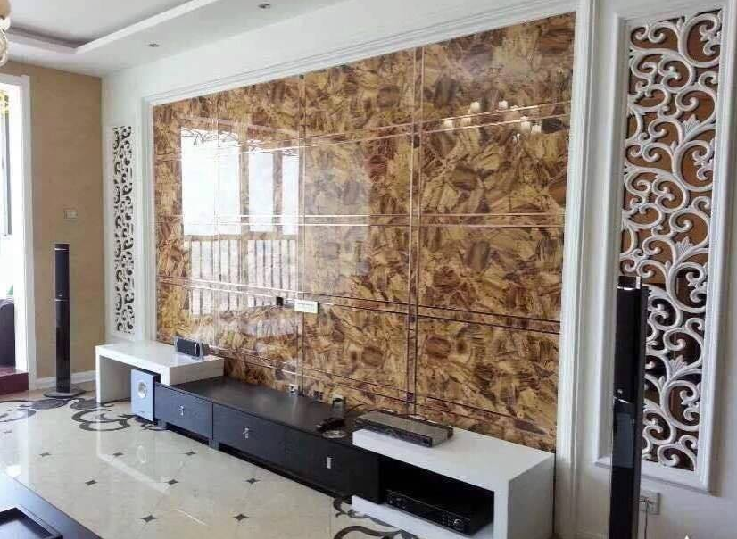 New Technology Shinning Glitter UV Marble Panel