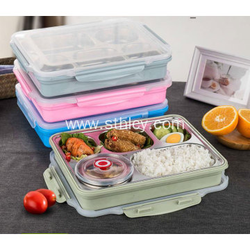 304 Stainless Steel Plate Thermal Lunch Box