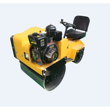 Small Ride-on Double Drum Compactor Machine