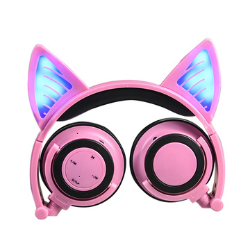 Light up Cat Ear наушники Wireless для детей