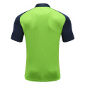 Mens Dry Fit Rugby Wear Polo Shirt Green