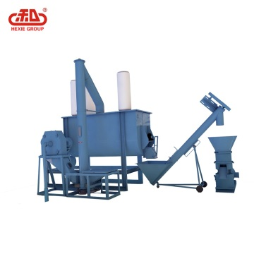 Animal farm equipment feed pellet production line