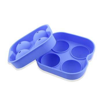 Silicone Flexible Round Ice Ball Maker Mold