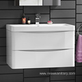 Small Laminate White Hanging Bathroom Cabinets