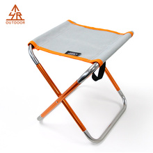 Portable Sturdy camping aluminum chair for Picnic time