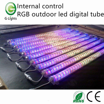 Internal control RGB outdoor led digital tube