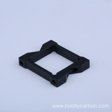 Drone Frame Black Anodized Aluminum Movable Tube Clamps