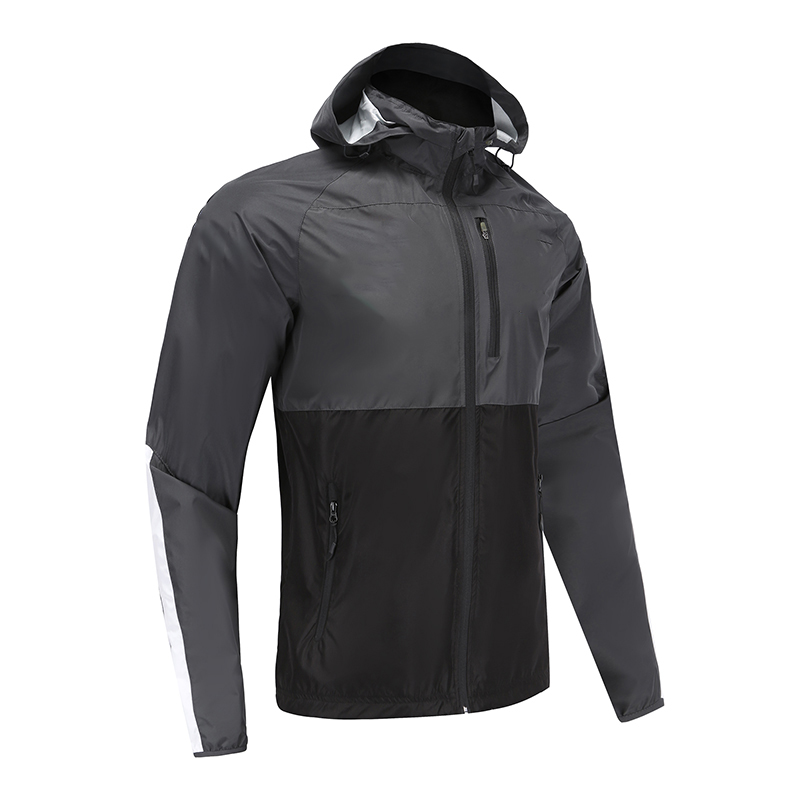 Mens Soccer Wear Zip Up Coat