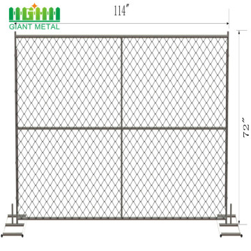 temporary fence rental near me