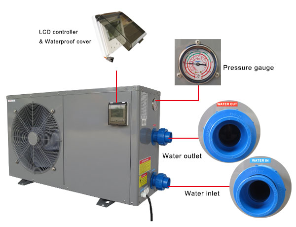Inverter Pool Heat Pump Heater