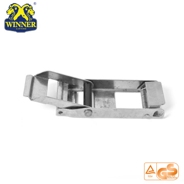 "Customized Heavy Duty 2"" Overcenter Buckle With Plastic Tube"