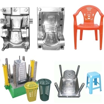Furniture Plastic Injection Armrest Chair Mould