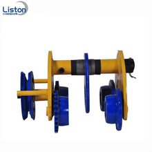 Custom Plain Trolley and plain geared hoist trolley