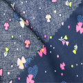 Artistic Fresh Cotton Printed Plain Fabric