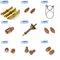 Camping gas heater nozzle brass gas spray nozzle