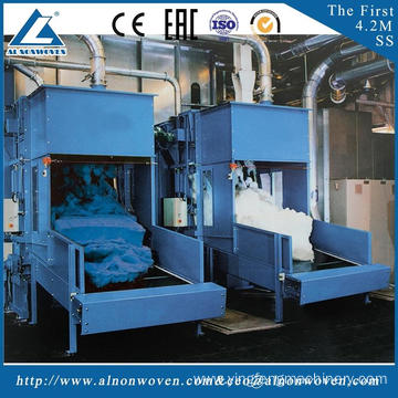 High quality ALKS-1300 cotton bale opener machine machine width 1.3m embedding materials for automobiles