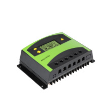Charge Controller 20A 12v/24v Auto Solar Charge Controller PWM Controllers LCD Dual USB 5V Output Solar Panel PV Regulator