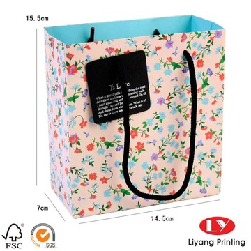 Promotional Custom Design Paper Bags For Shopping