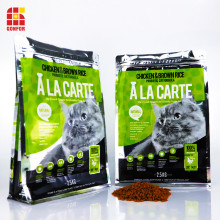 2.5KG Aluminum Flat Bottom Pouch Bag of Cat Food