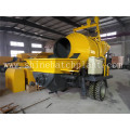 High Concrete Pump with Mixer