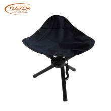 Heavy Duty Folding Tripod Camping Stool For 300lbs