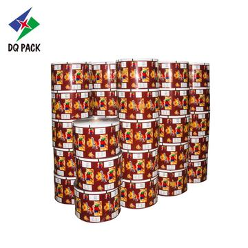 Snack packaging film roll film for food packing