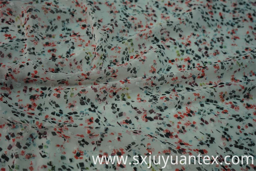 Polyester Swiss Dot Fabric