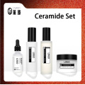 Ceramide skin care set for moisturizing nourishment