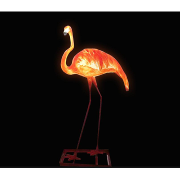 Outdoor Flamingo H Lights