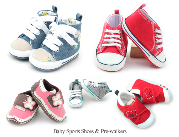 Baby Sports Shoes & Pre-Walkers Styles