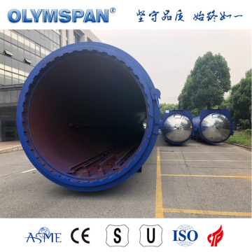 ASME standard cement brick treatment autoclave