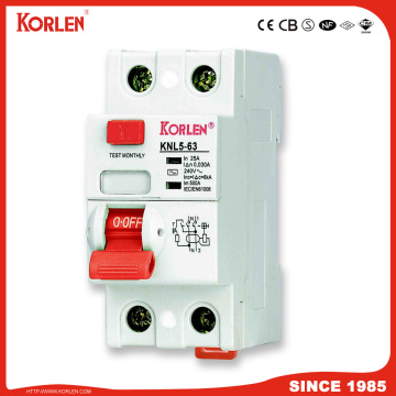 New Type Residual Current Circuit Breaker 300mA 500mA